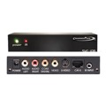 Channel Plus SVC-10R S-Video Digital Distribution Receiver Converts Signal from CAT 5 to Composite and S-Video Outputs S-Video CAT5 Distribution System with 12 Volt IR, Part # SVC10R