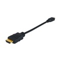 "Eagle 6"" Inch HDMI Male to HDMI Micro Male Cable  34 AWG Digital Audio Video 1.4v Smartphone To TV HDTV to Phone MicroHDMI to HDMI Cable"