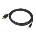 Eagle 6' Ft HDMI Male to HDMI Micro Male Cable Digital Audio Video 1.4v 34 AWG Cable Pigtail Audio Video Smartphone To TV HDTV to Phone MicroHDMI to HDMI Cable