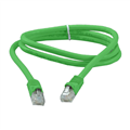 Eagle 3' FT CAT6 Patch Cord Cable Stranded Copper RJ45 Green Snagless