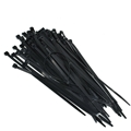 "Steren 400-815BK 15"" Inch Cable Ties Self Locking Black 40 Lbs 100 Pack Self-Locking Tie Wraps Virgin Nylon Quick Wire Bundle Easy Lock Straps Audio Video Coax Satellite Dish Telephone Data Line Organizer"