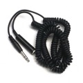 "Eagle 20' FT Stereo Headphone Extension Cord Cable 6.3m 1/4""Coiled Male to Female Ends Stereo Head Phone 20' Foot Audio Adapter Cable 1/4"" Speaker Flex Jack Cord Component Connect Plug Ends, Part # AH-80"