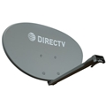 DIRECTV SlimLine Satellite Dish Antenna With Feed Arm And Base Mount, No LNB J-Mount Or Braces