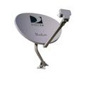 DIRECTV Slimline AU9S Three LNB Ka / Ku Slim Line Dish Antenna SL-3 Multi Wire HDTV Satellite Integrated MPEG-4 Multi-Sat Tuners for Slim Line Satellite Dish Local Channels, Feed Arm Mounting Assembly, Part # AU9-S SL3