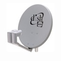 "Winegard DS-5005 Dish Pro 500 Satellite Antenna Network DS5005 Dish 20"" with Dish Pro Twin Dual LNBs,  DBS DSS Outdoor TV Aerial Reflector with Arm, FTA Signal Receiver, Part # DS5005, Dish500"