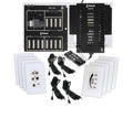 Channel Plus ENC-KIT-M  Encore Digital Audio Distribution System Digital 4 Zone Audio Distribution For Whole House Audio with DIGI-5 Sound Technology, Part # ENCKIT-M