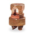 Steren 200-246 Split Bolt Connector 16-6 AWG #6 Lug SB-6 Solid Equal Main Tap for Copper or Copperweld SB6 High Strength Copper Bronze Alloy Electrical Lightning Ground UL Clamp, Part # 200246