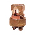 Steren 200-244 Split Bolt Connector 16-4 AWG Copper Wire Lug # 4 Solid Equal Main Tap for Copper or Copperweld High Strength Bronze Alloy Lug Electrical Lightning Ground Adapter UL Clamp, Part # 200244