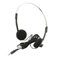 Soundlab HP-1110 Dynamic Stereo Headphones 3.5MM Jack With 6.3 MM 1/4 Adapter Cord Length 1.2 Meter, Part # HPS010