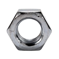 "Eagle Hex Machine Nut Coarse Zinc Plated Steel 1/4-20 Wrench 7/16"" Inch Height 7/32"" Inch Screw 100 Pack"