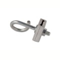 Eagle A-2 Q-Span Clamp Galvanized Steel Bolt and Aluminum Clamp Cable Coax Hanger Low Voltage I-Beam Connection