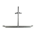 "Perfect Antenna Gable Eave Mount Heavy Duty 60"" - 40"" 1 1/4"" To 2"" Adjustable Satellite Mast 36 x 5 x 3 Off-Air Outdoor HDTV Aerial Support, Rohn Replacement, Part # PVEM1"