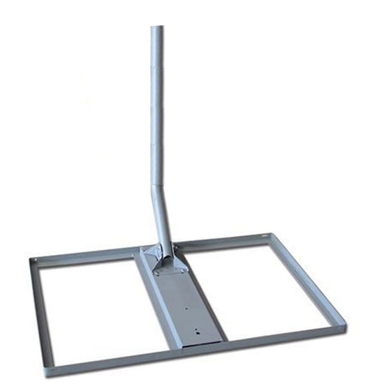 Winegard Non Penetrating Roof Mount Satellite Dish Antenna Kit DS 5046 And  DS 5146, Steel Square Frame Support With Antenna Post Kit, Part # DS5046,  DS5146