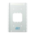 "Open House H200 10"" Mounting Grid Bracket Single Gang Enclosure for Single Width Structured Wiring Modules Home Junction Box Cover Mounting Wall Bracket, Part # H-200"