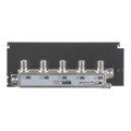 Open House H804 4-Way Balanced Splitter / Combiner Hub CATV Antenna Linear HDTV Grid Mounted Distribution Hub, Distributes Signals to 4 Locations with its High Quality On-Board Splitter, Part # H-804
