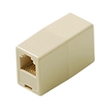 RCA TP262 Telephone In-Line Coupler RJ11 Jack Ivory Splice RJ-11 Plug Cord Modular Telephone Cable Extension , Part # RCA TP-262
