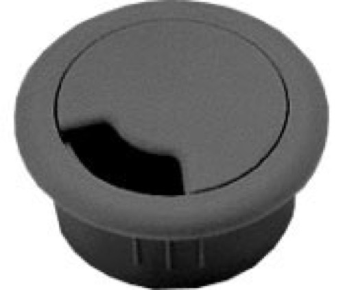 1 1 2 snap in grommet desk wire hole cover home office flush