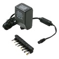 Steren 900-117 Universal Supply Adapter 1700 mA AC/DC with 6 Detachable Plugs Converter Volt UL Transformer AC DC Power Adapter Supply 110 VAC 50-60 Hz Adapter with Switchable Voltage Outputs 3, 4.5, 6, 7.5, 9, 12 VDC, Part # 900117