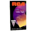 RCA T-120 VHS Tape 120 Minute Video Tapes SPQL Blank Premium Grade T120 VCR Recording Format A/V TV Signal Playback, Color Picture Display, Part # T-120