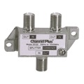 Channel Plus CP-2532 Diplexer 2 Way Signal Splitter Combiner 1 GHz DC and IR Blocking Bi-Directional Video Coaxial Cable UHF / VHF HD TV Antenna Splitter Combiner, Part # SP2532