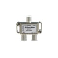 PCT Satellite Diplexer Mixer Separator 2 GHz DC Passing Commercial Grade Video Signal TV Antenna Diplexer 950 - 2150 MHz with DC Pass High Performance In-line IF Digital Satellite Diplexer