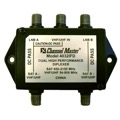 Dual Satellite Diplexer DC Passive Both Ways Channel Master 4032IFD High Performance UHF/VHF Dual Satellite Dish Diplexer Signal Combiner with Weather Boots, Part # 4032-IFD