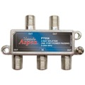 Eagle Aspen P7004 4-Way Splitter 5-2600 MHz Single Port DC Passive 2.5 GHz Off-Air UHF/VHF 4 Output TV Signal Splitter Four Port Video Splitter, Part # P-7004
