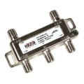 Channel Master 3214 4 Way Digital Splitter 1 GHz Genesys II PCT-NGNII-4S Video Signal Horizontal Drop Solder Back Splitter -130 dB RFI UHF / VHF Video TV Antenna Coax Cable, 5-1000 MHz, Part # PCT-NGNII4S