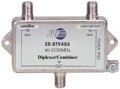 JVI Satellite Diplexer Combines 2 GHz Satellite / Antenna / Cable Signal Outdoor HDTV Separates Splitter Mixer Commercial Grade TV Video Dual Band Off-Air / Sat Dish Feed Mixer, Part # 35-STV48A