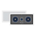 "Sequence 730-205 Premier Series Dual 5 1/4"" Home Theater Two Way Left / Center / Right in Wall Speaker with Dome Tweeter by Steren"
