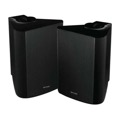 "Sequence 730-360BK 6 1/2"" Indoor Outdoor Weather Resistant Speakers One Pair Black 150 Watt RMS Two Way By Steren"