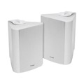 "Sequence 730-360WH 6 1/2"" Indoor Outdoor Weather Resistant Speakers One Pair White 150 Watt RMS Two Way By Steren"