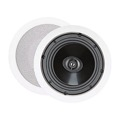 "Sequence 730-101 Essential Series Two Way 6 1/2"" in Ceiling Speakers 60 Watt One Pair By Steren"