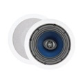 "Sequence by Steren 730-201 Premier 80 Watt 6.5"" Inch 2-way Ceiling Speaker One Pair with Pivoting Tweeters"