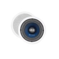 "Sequence 730-203 Premier Series 8"" inch Two Way Ceiling Speakers with Pivoting Tweeters, One Pair, by Steren"
