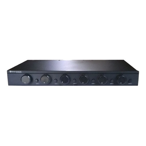 Sequence 9-9 9 Way Impedance Matching Speaker Selector Switch 9 Watts  RMS with Volume Controls by Steren