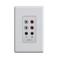 Forte by Steren ABX-75 In-Wall Single Input Module with Loop Through