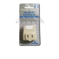 Leviton 835-1469-I 13 Amp 125 Volt, Plug-In Switch Tap Ivory 2-Wire ON/OFF Switch, part # 8361469-I