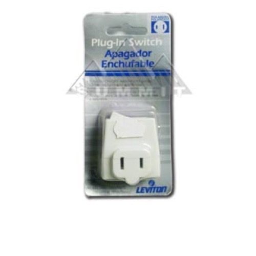 Leviton 836-1469 Plug-In Switch Line ON/OFF Cord 120 Volt 13 Amp 2 ...