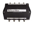Channel Master 6254IFD Cascade Tap Multiswitch 4 Output 19 dB Satellite 4x4 IF Multiswitch 4 Output Cascade Multi-Switch 54 - 2150 MHz 2 GHz Commercial Grade Taps 6254 IFD In-line IF Combiner Digital Video Signal, Part # CM6254-IFD