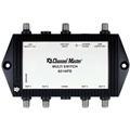 Channel Master CM6314IFD 3X4 Way Multiswitch with Active VHF/UHF Satellite Signal Dish 24VDC Power Supply 4 Output VHF/UHF Passive Antenna Distribution 950 - 2150 MHz 2 GHz Commercial Grade In-line IF Combiner Digital Video Signal, Part # 6314-IFD