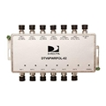 DirecTV DTV6PWRPOL-02 Power Inserter Polarity Locker Six Line LNB 35 dB Port to Port Isolation All Ports DC Passing ODU