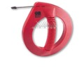 GB Gardner Bender EFT-321P 25' FT Steel Fish Tape Flat Wire Snake Electrical Cable Dispenser for Pulling Wires and Cable Inside Walls and Floors Conduits Durable Steel Tape, Commercial Grade, Part # EFT321P