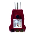 Triplett 9610 Plug Recepticle Tester GFCI Ground Fault Circuit Interupter Plug-Bug2 Electrical Receptacles Circuit Outlet Tester Indicates Faults Wiring Analyzer Standard and GFCI 3-Prong Outlets for Proper Wiring, Part # 9610