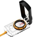 "Eagle Map Compass Navigation Reading with Mirror Lanyard 1 3/4"" Diameter Dial Lanyard Professional Map Compass Compass Magnetic Directional Map Positioning with Easy Readability"