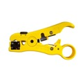 Eagle Coaxial Cable Stripper Tool RG11 RG59 RG6 3 Blade Universal RG6, RG59, RG11, CAT5E, Speaker Wire and Flat Phone, Part # STR2U
