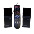 RCA Universal Remote Control Extender Kit Wireless Remote Control Extender and Universal 4 Device Remote Control RCA Systemlink 4 Remote TV System Control, Remote Range RF Frequency 418 MHz