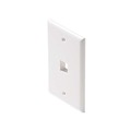 Keystone 1 Port Wall Plates