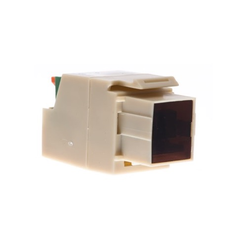 Eagle Keystone IR Target Insert Ivory In Wall Distritution Reciever Transmission Media Over Cat5 IR Insert Jack Plug Wall Plate Module Component