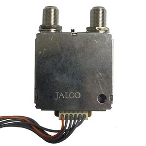 RF Modulator Video Audio Channel 3/4 TV Switch Signal Combiner, Internal Replacement Part for Satellite Receiver, 6 Wires Connections and 2 F-Connector Ports, Part # YY-1211